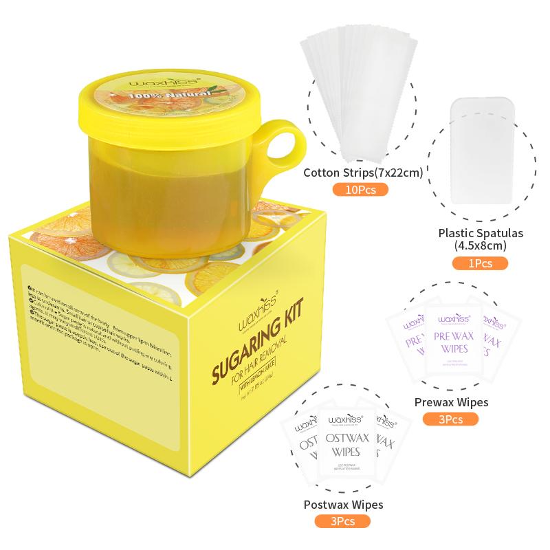 Cup sugaring paste kit