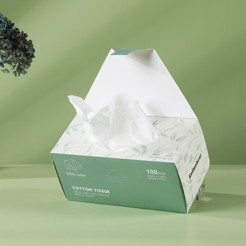 Disposable Facial Wipes in Box
