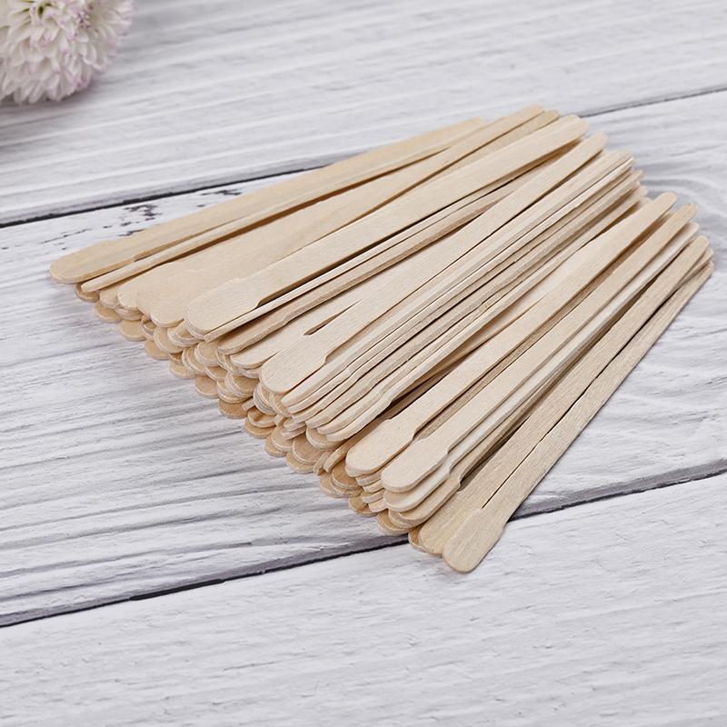Wooden Waxing Spatula Mini Slim Size WS-01