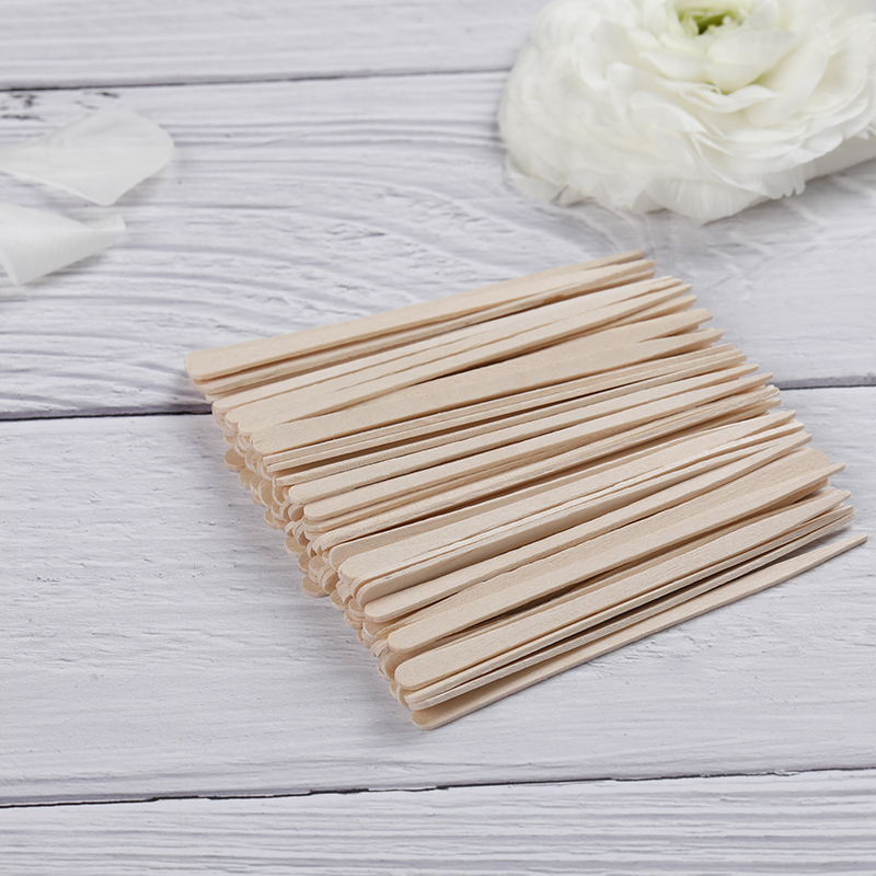 Wooden Waxing Spatula Mini Slim Size WS-02