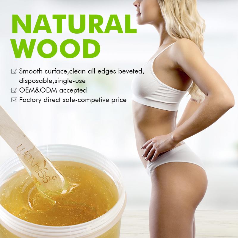 Small Wooden Waxing Spatula WS-03
