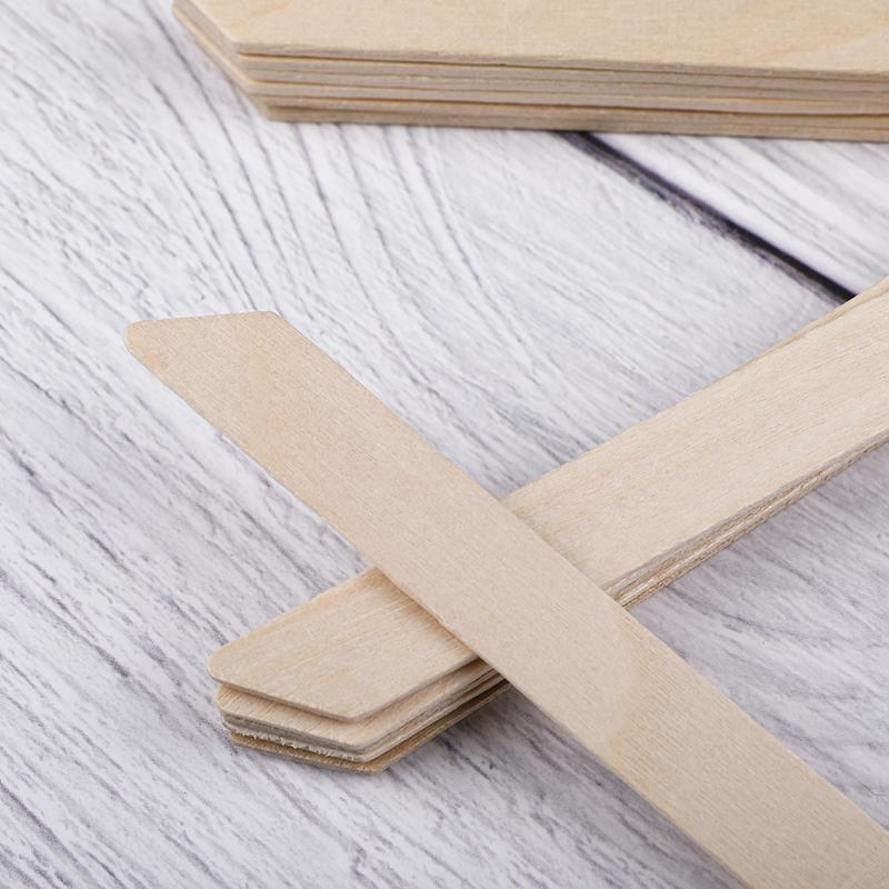 Small Wooden Waxing Spatula WS-04